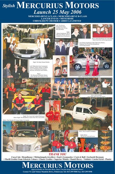 Mercedes-Benz, Mitsubishi & JCD Launch– 25 May 2006