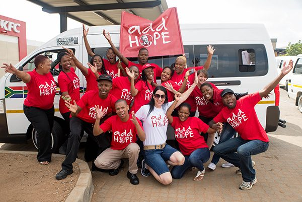 Add Hope Beneficiary: Makro Food Delivery 3 March 2017