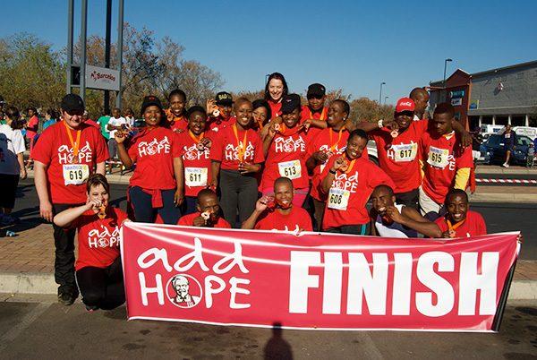 Add Hope Activation: Savannah Mall Fun Run Event Participation – 26 July 2014