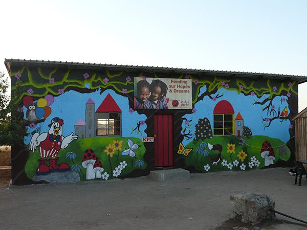 Add Hope Activation: Lethlanthene Wall Painting – 22 September 2014