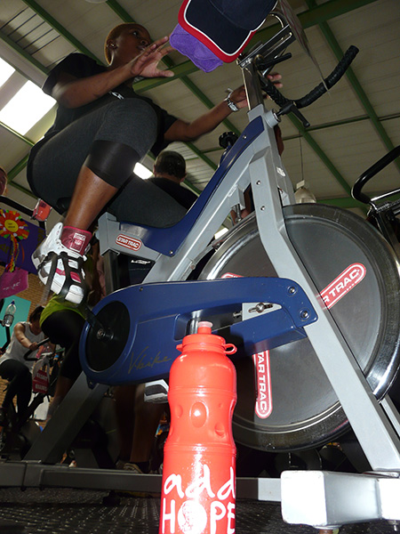 Add Hope Activation: Mrs Limpopo Spinning Event Participation – 7 November 2014