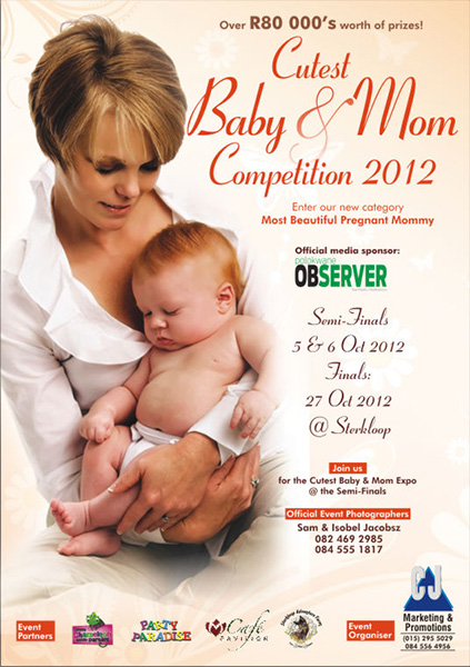 Cutest Baby Competition: May – October 2012
