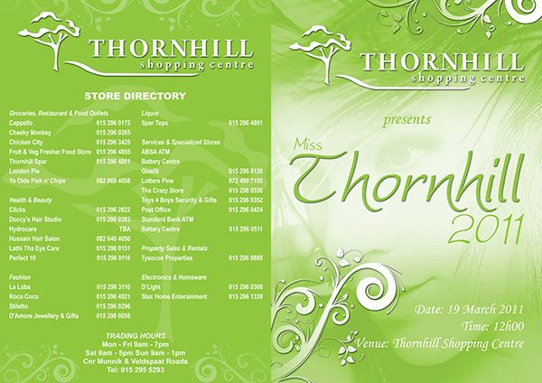 Miss Thornhill Beauty Pageant –19 March 2011