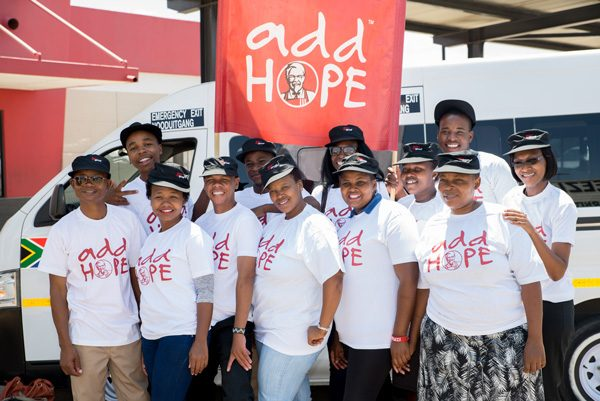 Add Hope Activation: R90 000 Food Delivery – 3 March 2016