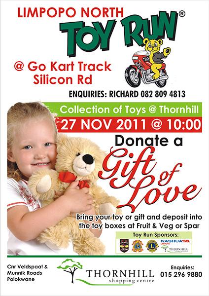 Thornhill Shopping Centre Toy Run – 27 November 2011