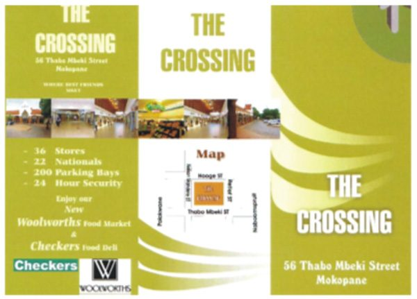 The Crossing Mall Grand Opening: 3 – 4 December 2004