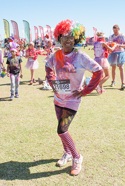 Add Hope: The Color Run Event Participation – 13 August 2016