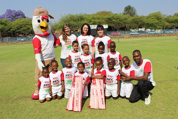 KFC Mini-Cricket Equipment Hand Over – 29 October 2015